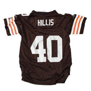 Cleveland Browns Peyton Hillis #40 Reebok jersey